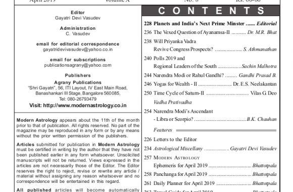 Apri 19 contents page