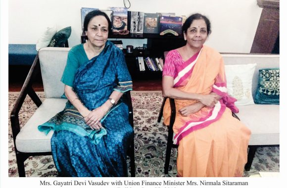 September 2019 With Nirmala Sitaraman 1