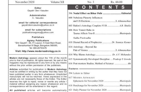 MA Nov 2020 Content
